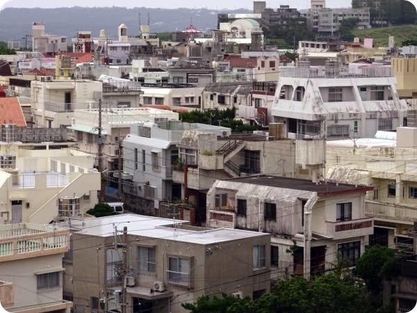 那覇市の住宅街
