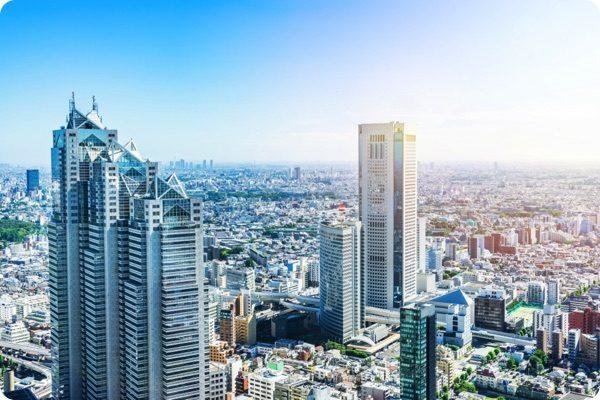 新宿区の超高層ビル