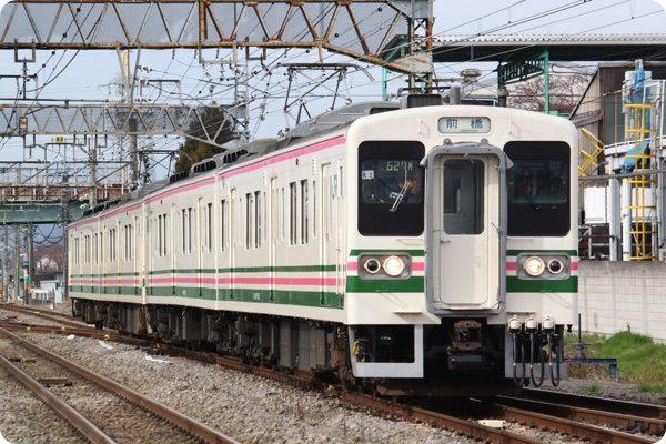 群馬県を走る電車