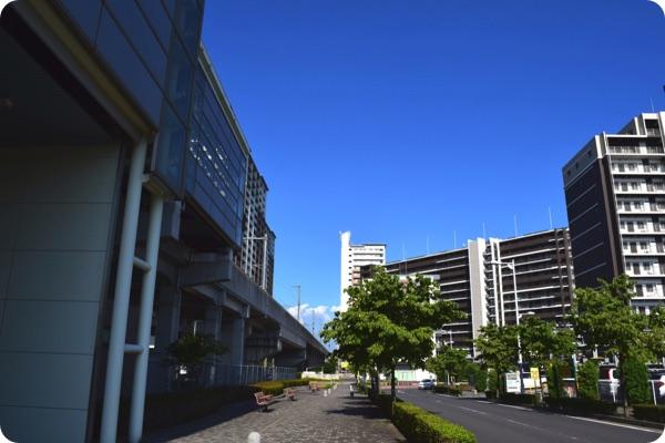 茨城県水戸市の光景