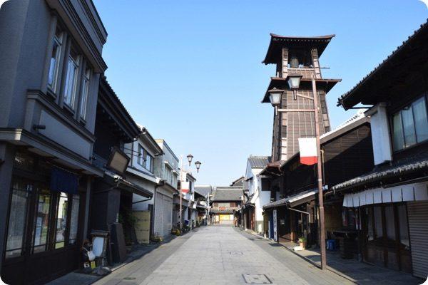 埼玉県の街並み